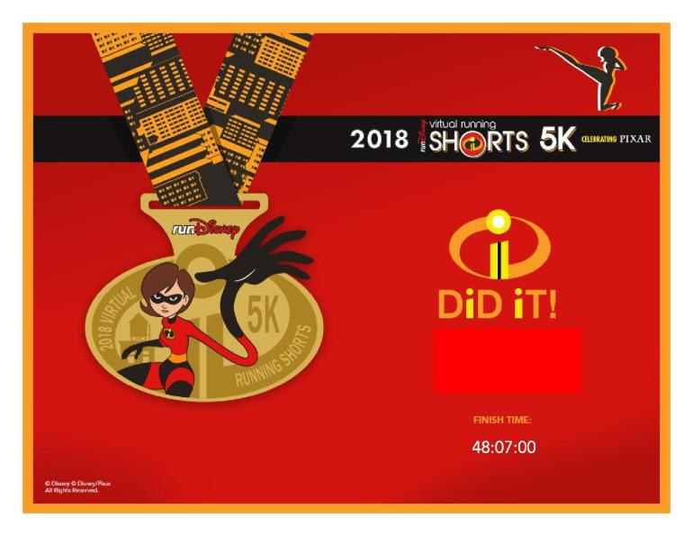 2018 June 5K Finisher Certificate