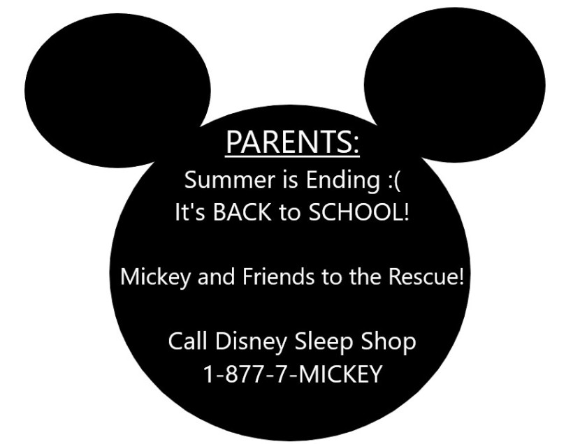 Disney Sleep Shop Hotline